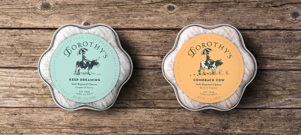 Comeback Cow and Keep Dreaming Dorothys Cheese